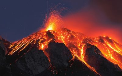Оган, вулкани!